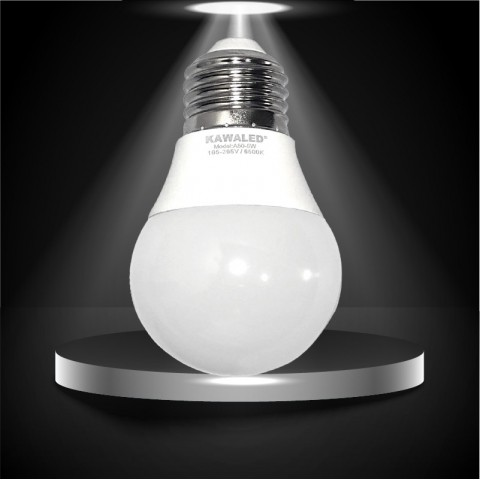 Bóng đèn led tròn, đèn led giá rẻ, bóng đèn tròn tiết kiệm điện, đèn led búp tròn chính hãng A50-3W-15W