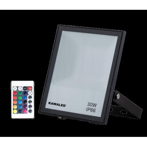 ĐÈN PHA LED ĐỔI MÀU FL30W-RGB2