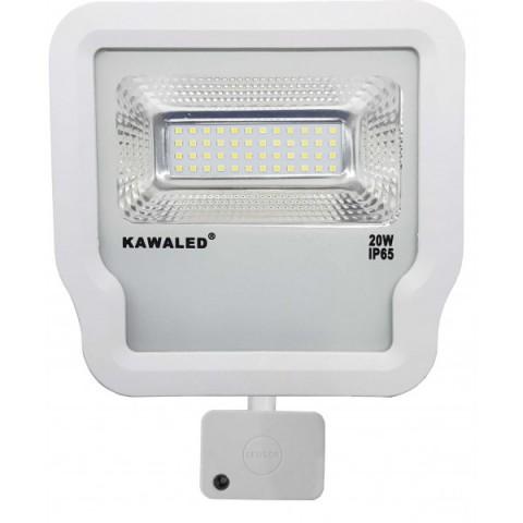 Đèn pha led cảm ứng vi sóng cao cấp FL1R-20W