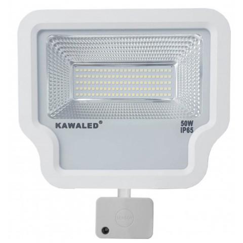 Đèn pha led cảm ứng vi sóng cao cấp FL1R-50W