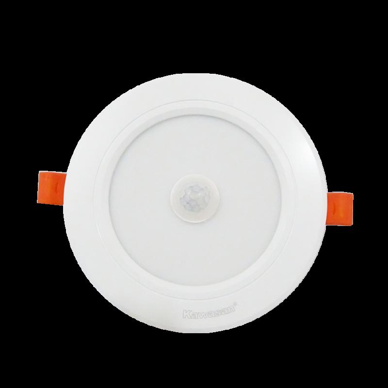 ĐÈN LED ÂM TRẦN CẢM ỨNG HỒNG NGOẠI DSB7W T/V (VIỀN TRẮNG)