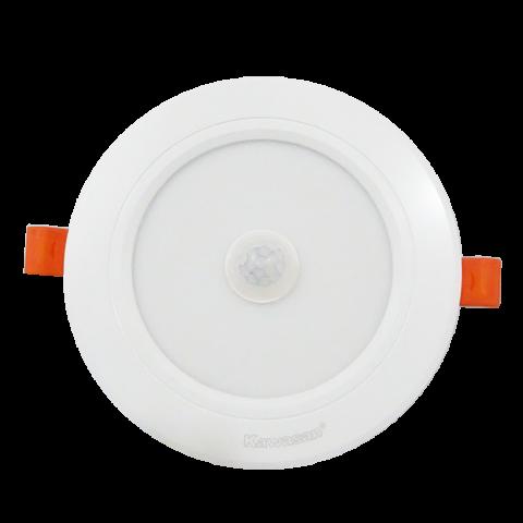 ĐÈN LED ÂM TRẦN CẢM ỨNG HỒNG NGOẠI DSB12W T/V (VIỀN TRẮNG)