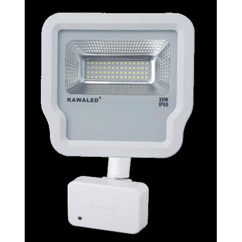 Đèn pha led cảm ứng vi sóng cao cấp FL1R-30W
