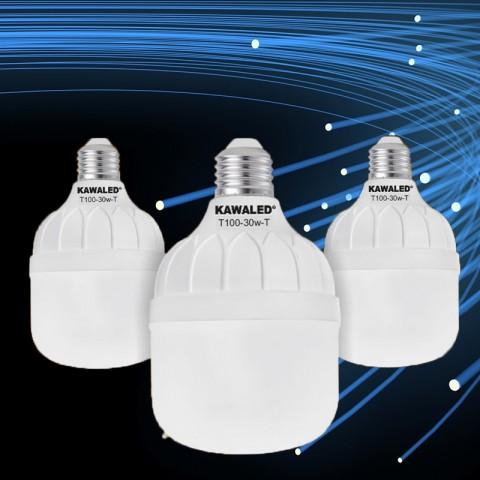 Đèn led búp trụ, đèn led trụ, đèn led cao cấp, đèn led chính hãng,  bóng đèn led trụ 20w 30w 40w 50w  T80-20W-50W-02