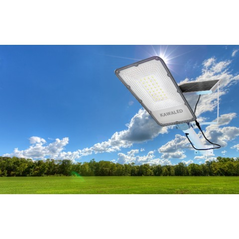 Đèn đường năng lượng mặt trời cao cấp, đèn pha năng lượng mặt trời, đèn led ngoài trời năng lượng mặt trời 100w 150w 200w STL-100W-200W