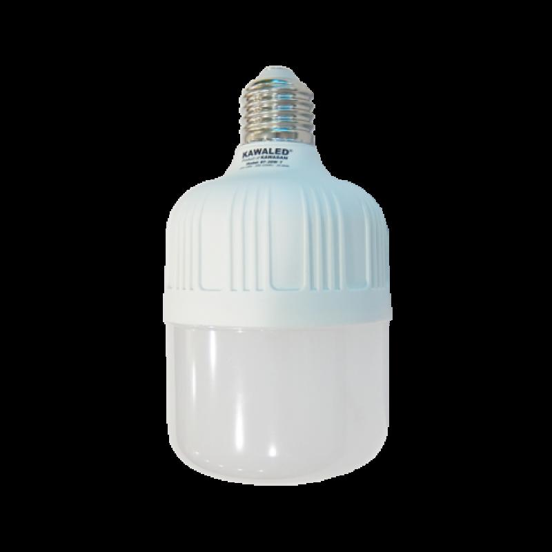 ĐÈN LED BULB TRỤ THÂN NHỰA T100-30W-T/V