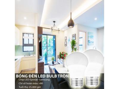 Vì sao nên sử dụng bóng đèn led bulb tròn?